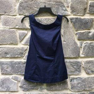 Anthropologie | Odille Navy Tank With Tie
